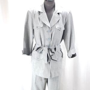 [Vintage] T. Milano 2-Piece Pantsuit